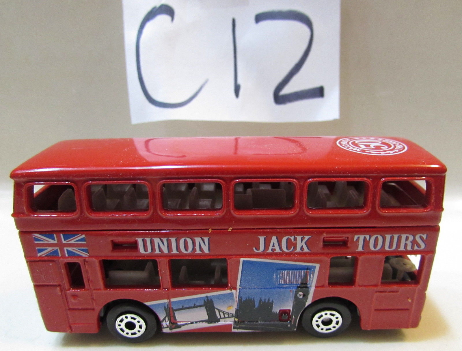 MATCHBOX LONDON BUS RED LOOSE