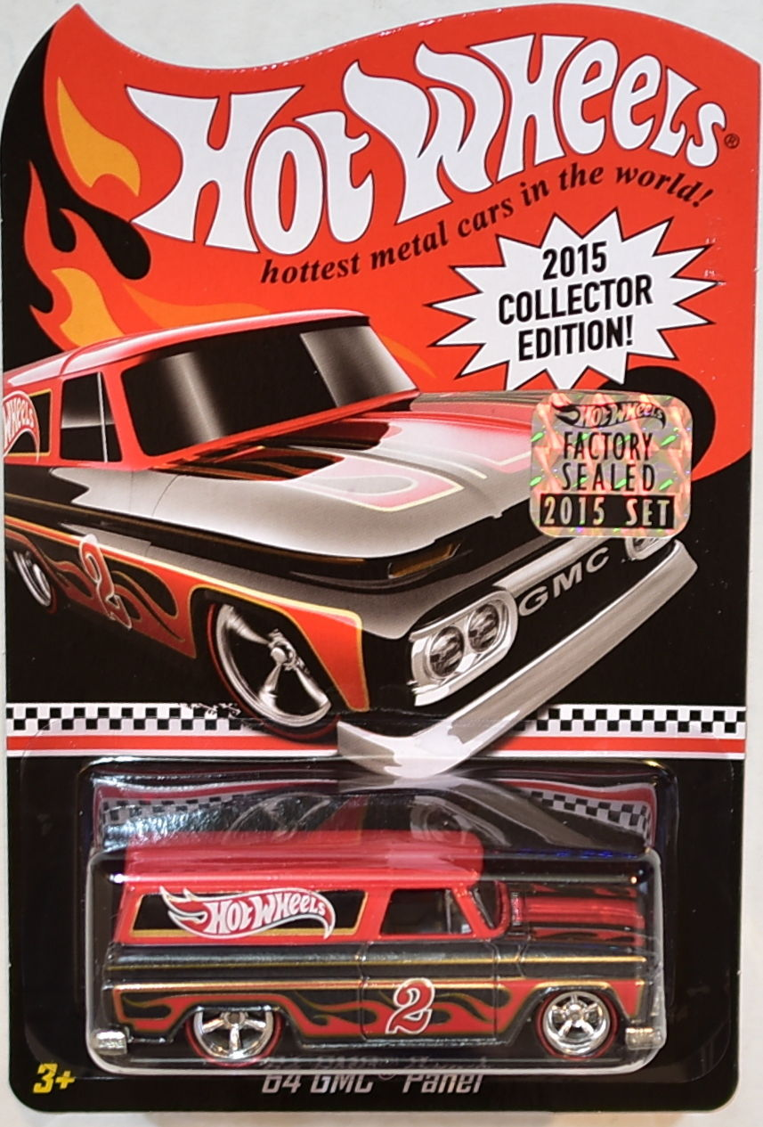 HOT WHEELS 2015 COLLECTOR EDITION KMART MAIL IN '64 GMC PANEL FACTORY SEALED