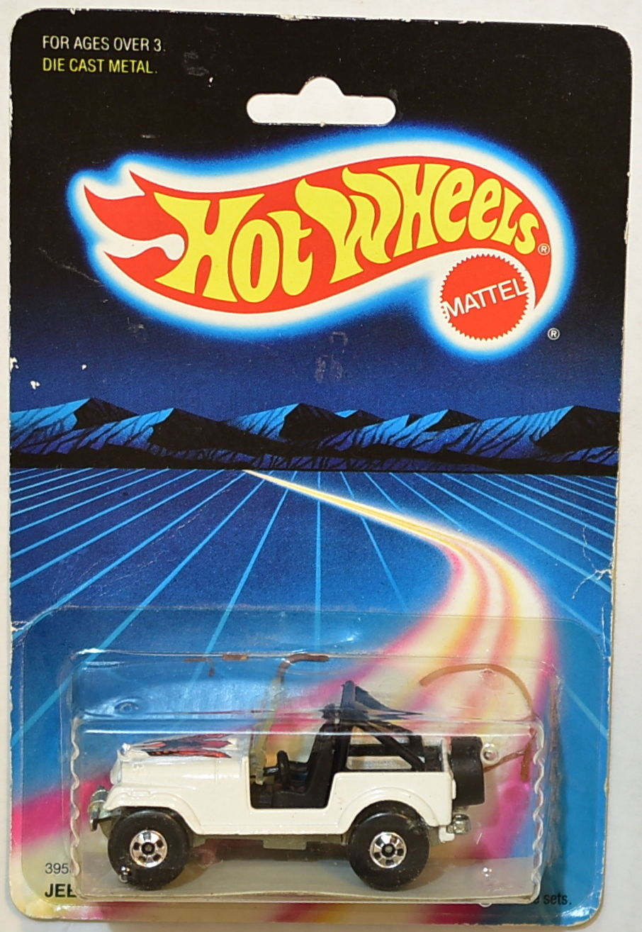 HOT WHEELS 1987 JEEP CJ-7 RAINBOW