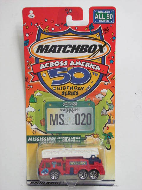 MATCHBOX ACROSS AMERICA 50TH BIRTHDAY SERIES MISSISSIPPI