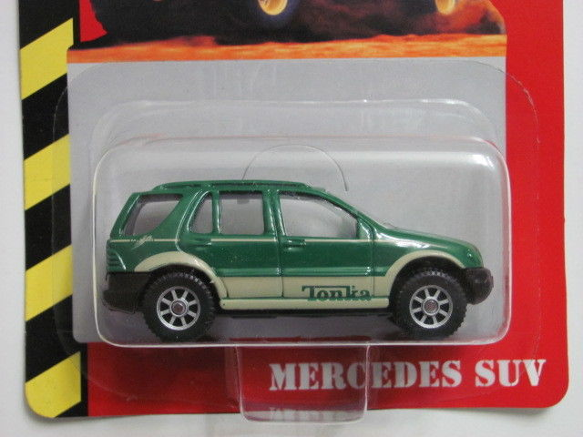 MAISTO TONKA #13 OF 50 DIE CAST METAL MERCEDES SUV GREEN