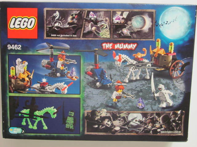 LEGO 9462 MONSTER FIGHTERS THE MUMMY 90pc