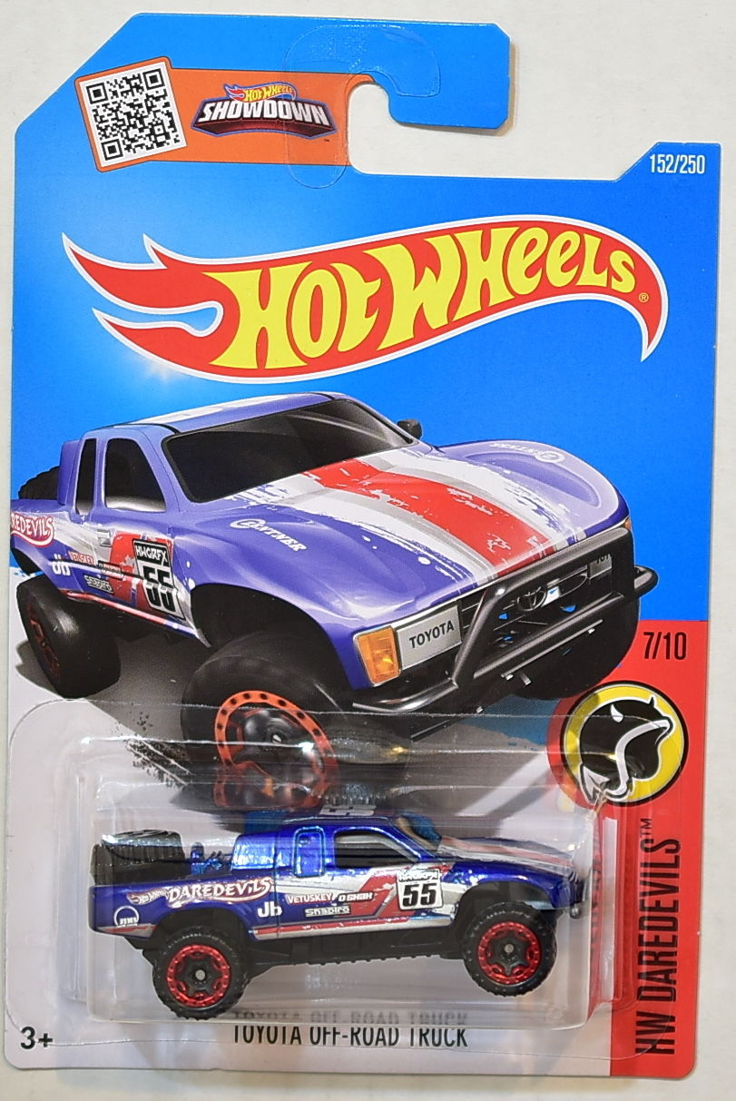 HOT WHEELS 2016 HW DAREDEVILS TOYOTA OFF-ROAD TRUCK