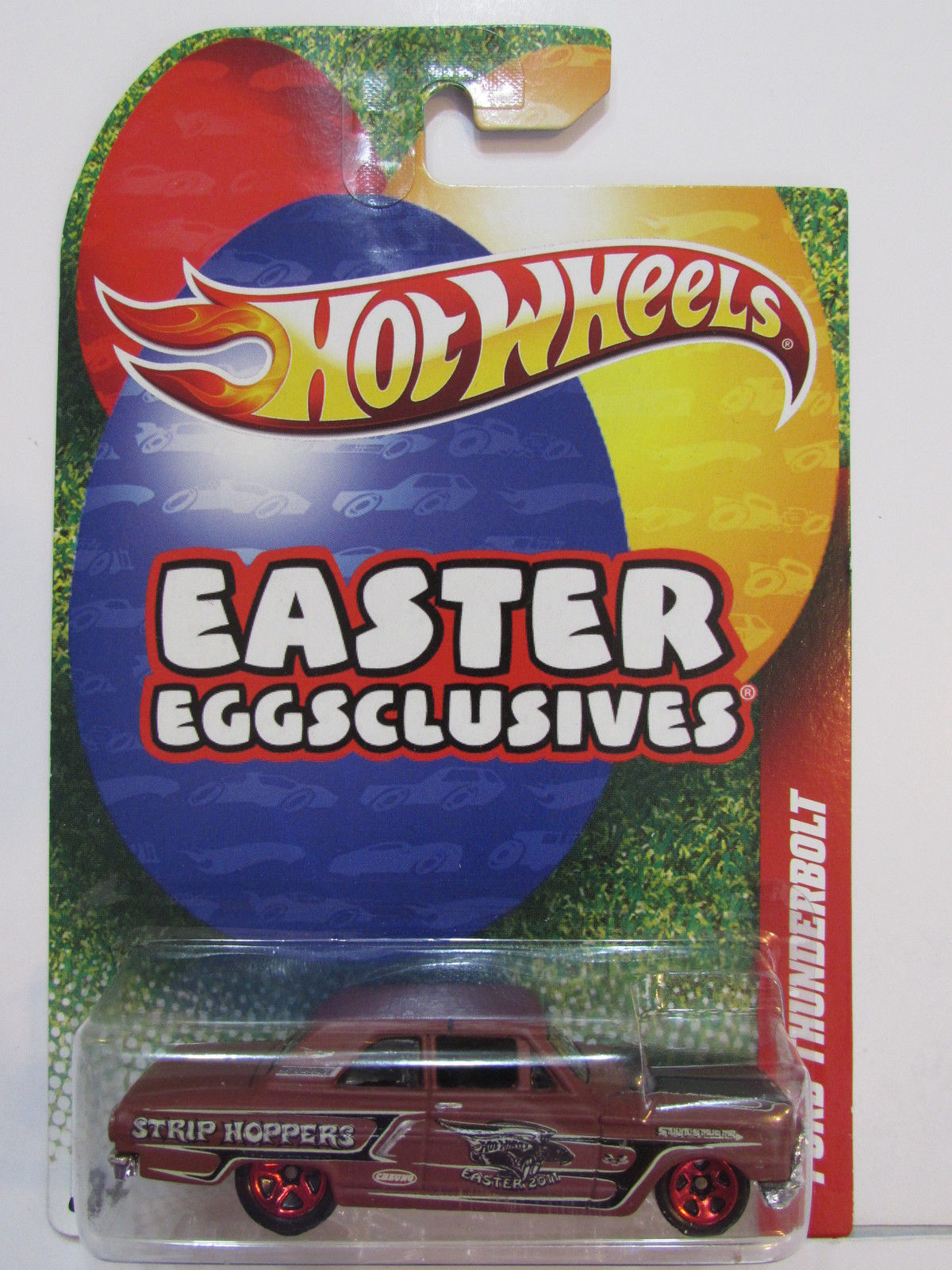 HOT WHEELS EASTER EGGSCLUSIVES FORD THUNDERBOLT