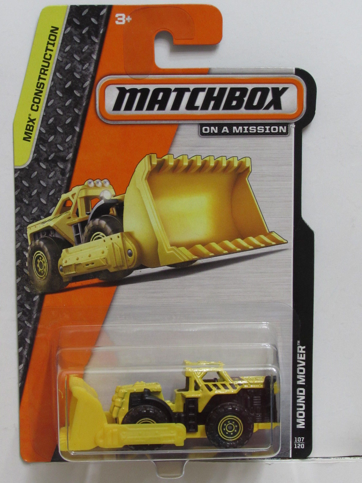 MATCHBOX 2013 ON A MISSION MBX CONSTRUCTION MOUND MOVER