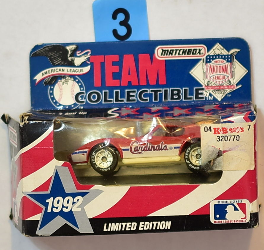 MATCHBOX 1992 TEAM COLLECTIBLE MLB NEW YORK METS CAR MLB-92