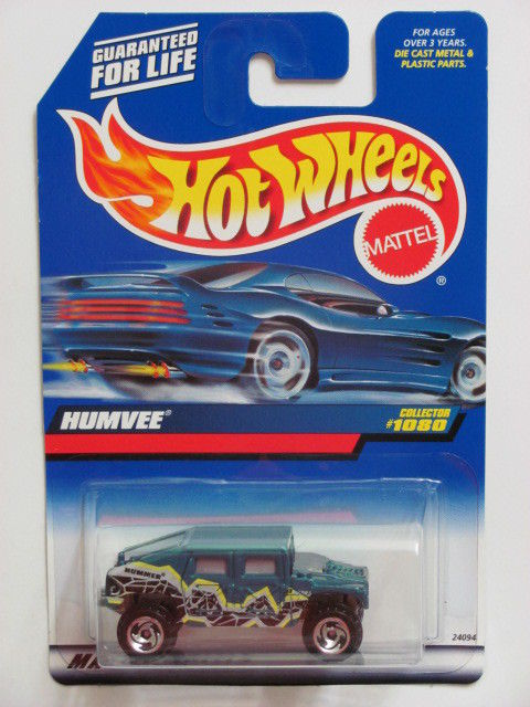 HOT WHEELS 1999 HUMVEE COLLECTOR #1080