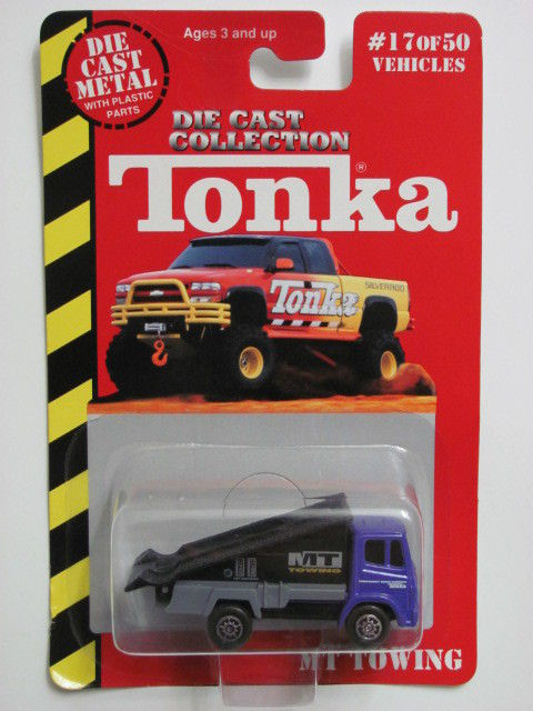 MAISTO TONKA #17 OF 50 DIE CAST METAL MT TOWING