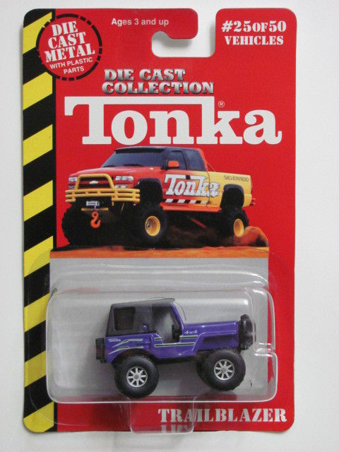 MAISTO TONKA #25 OF 50 DIE CAST METAL TRAILBLAZER PURPLE