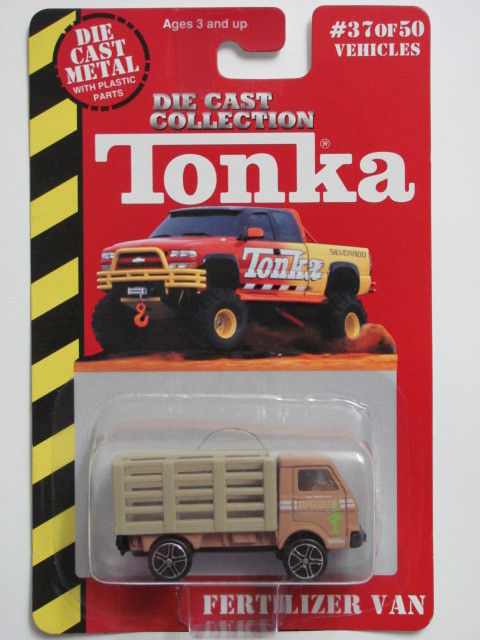 MAISTO TONKA #37 OF 50 DIE CAST METAL FERTILIZER VAN E+