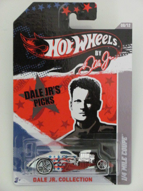 HOT WHEELS DALE JR. COLLECTOR 2011 1/4 MILE COUPE
