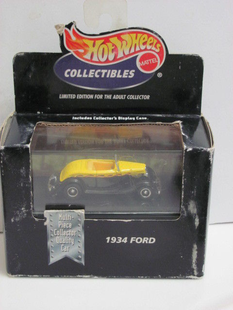HOT WHEELS 1998 COLLECTIBLES 1934 FORD 1:64 SC