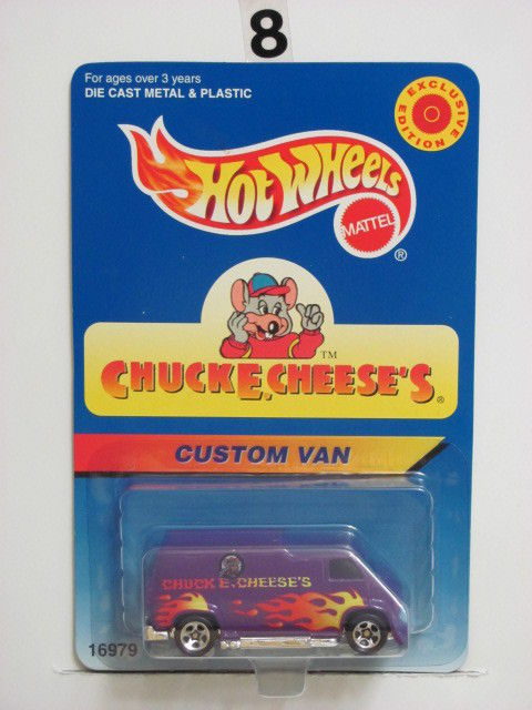 HOT WHEELS 1996 CHUCKE.CHEESE'S CUSTOM VAN