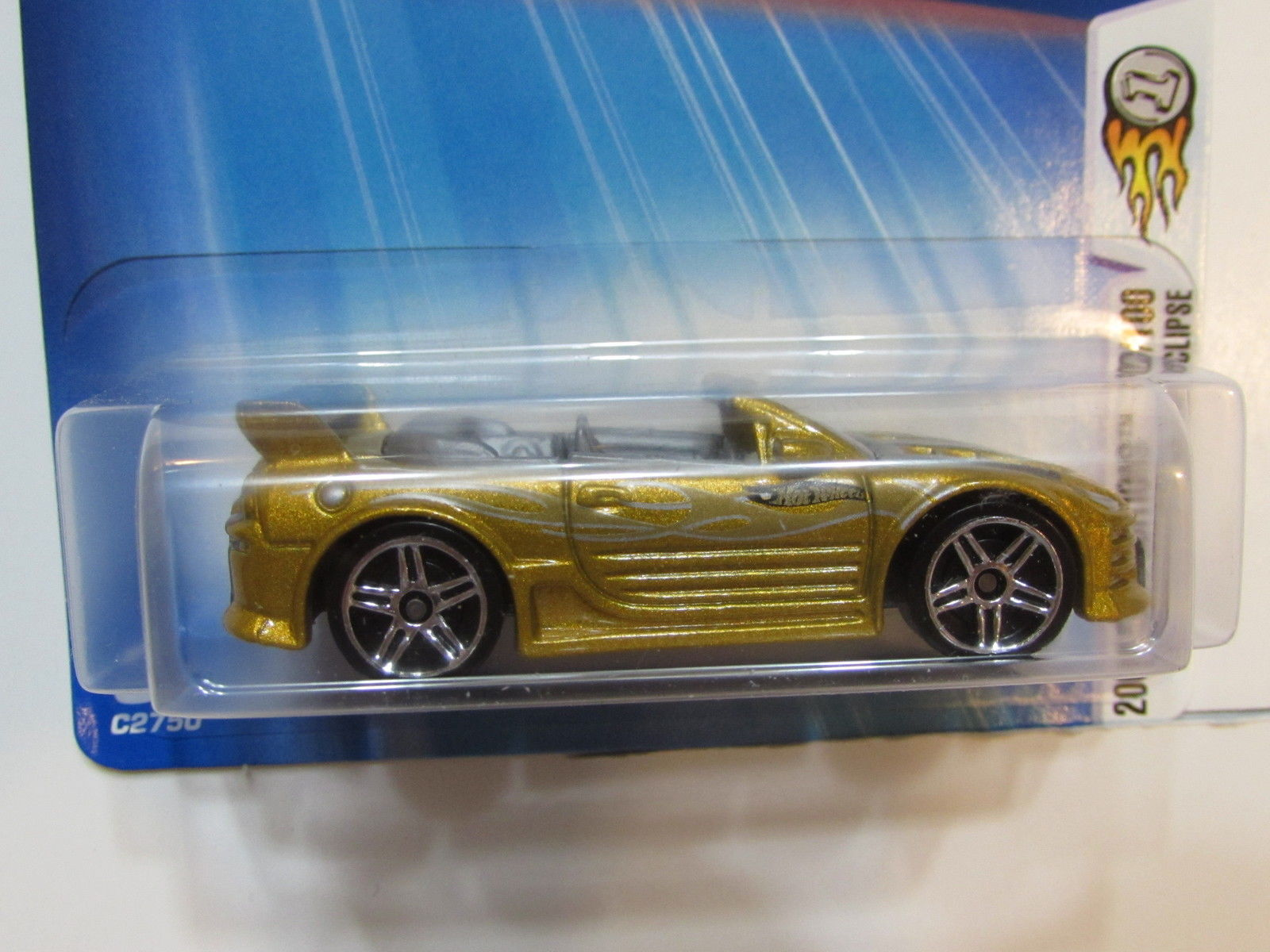 HOT WHEELS 2004 FIRST EDITIONS MISTHIBISHI ECLIPSE #090
