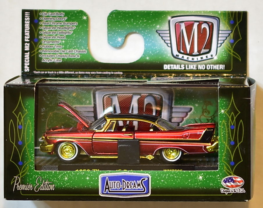 M2 MACHINES AUTO-DREAMS 1958 PLYMOUTH BELVEDERE WALMART CHASE