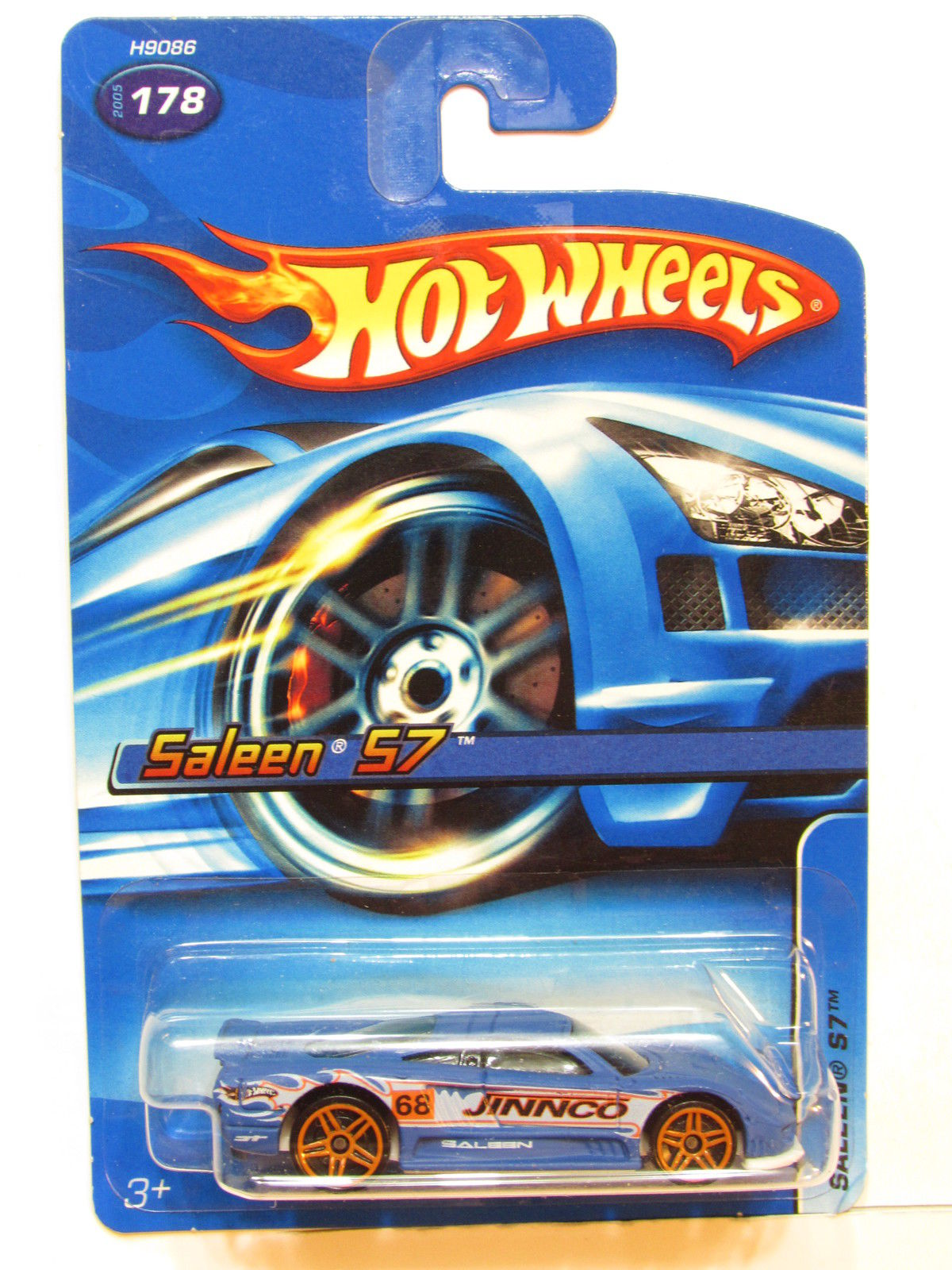 HOT WHEELS 2005 SALEEN S7 BLUE #178
