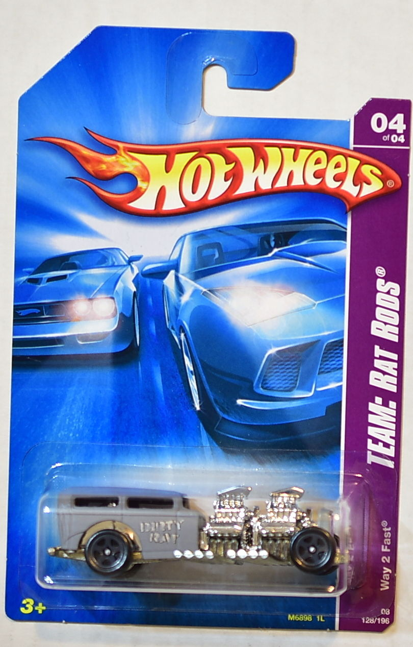 HOT WHEELS 2008 TEAM: RAT RODS WAY 2 FAST #04/04