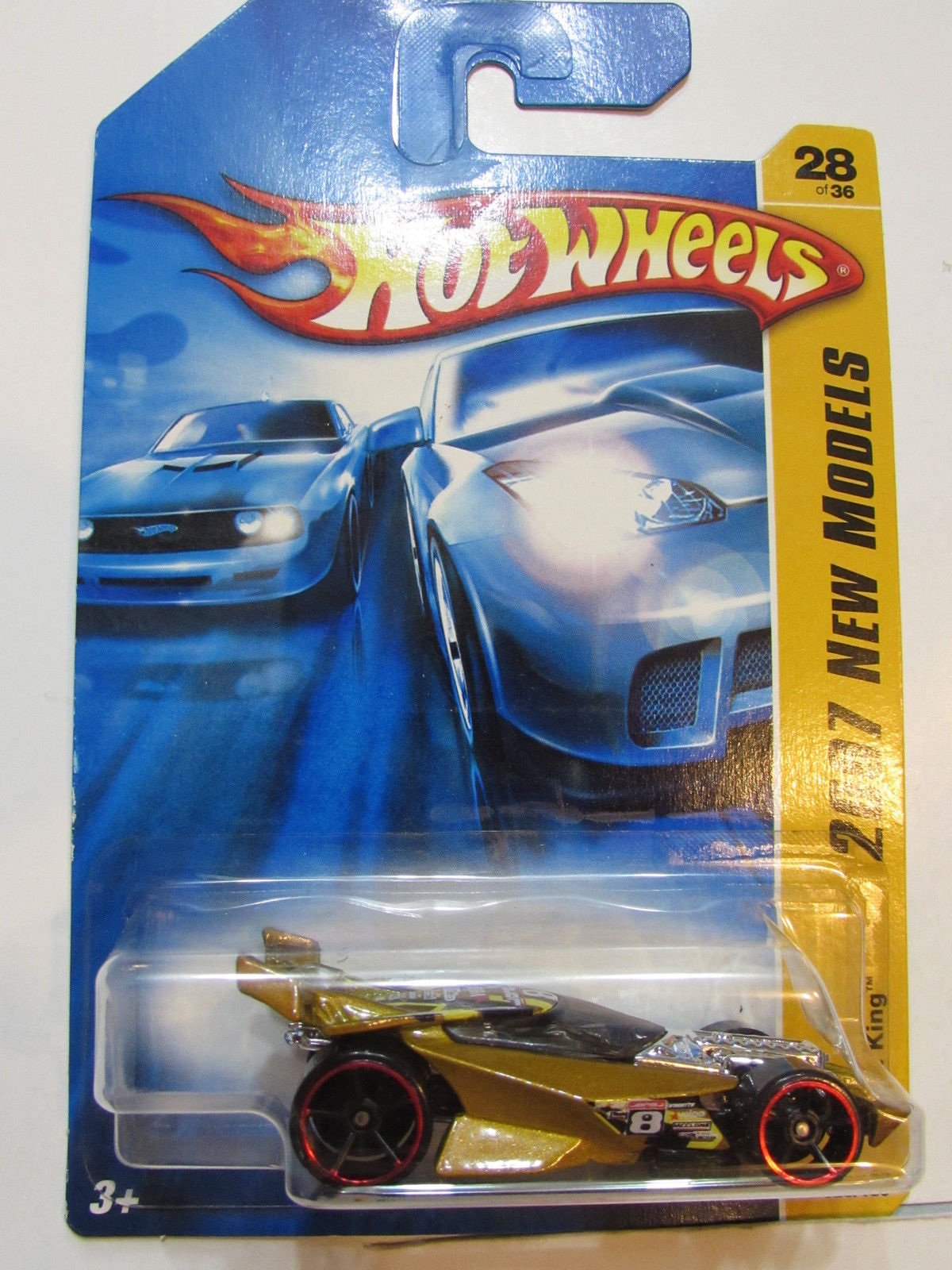 HOT WHEELS 2007 NEW MODELS DRIFT KING 28/36