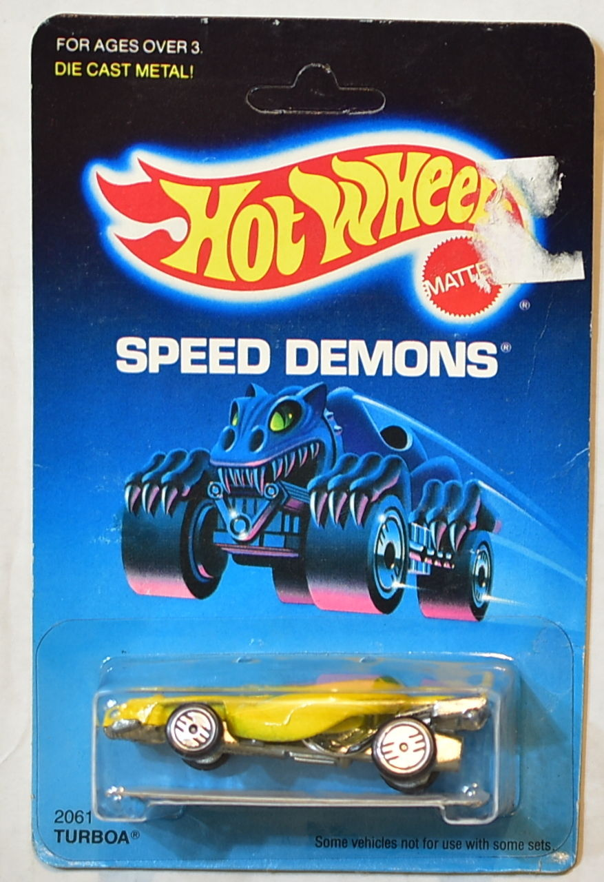 HOT WHEELS 1988 SPEED DEMONS TURBOA UH WHEELS