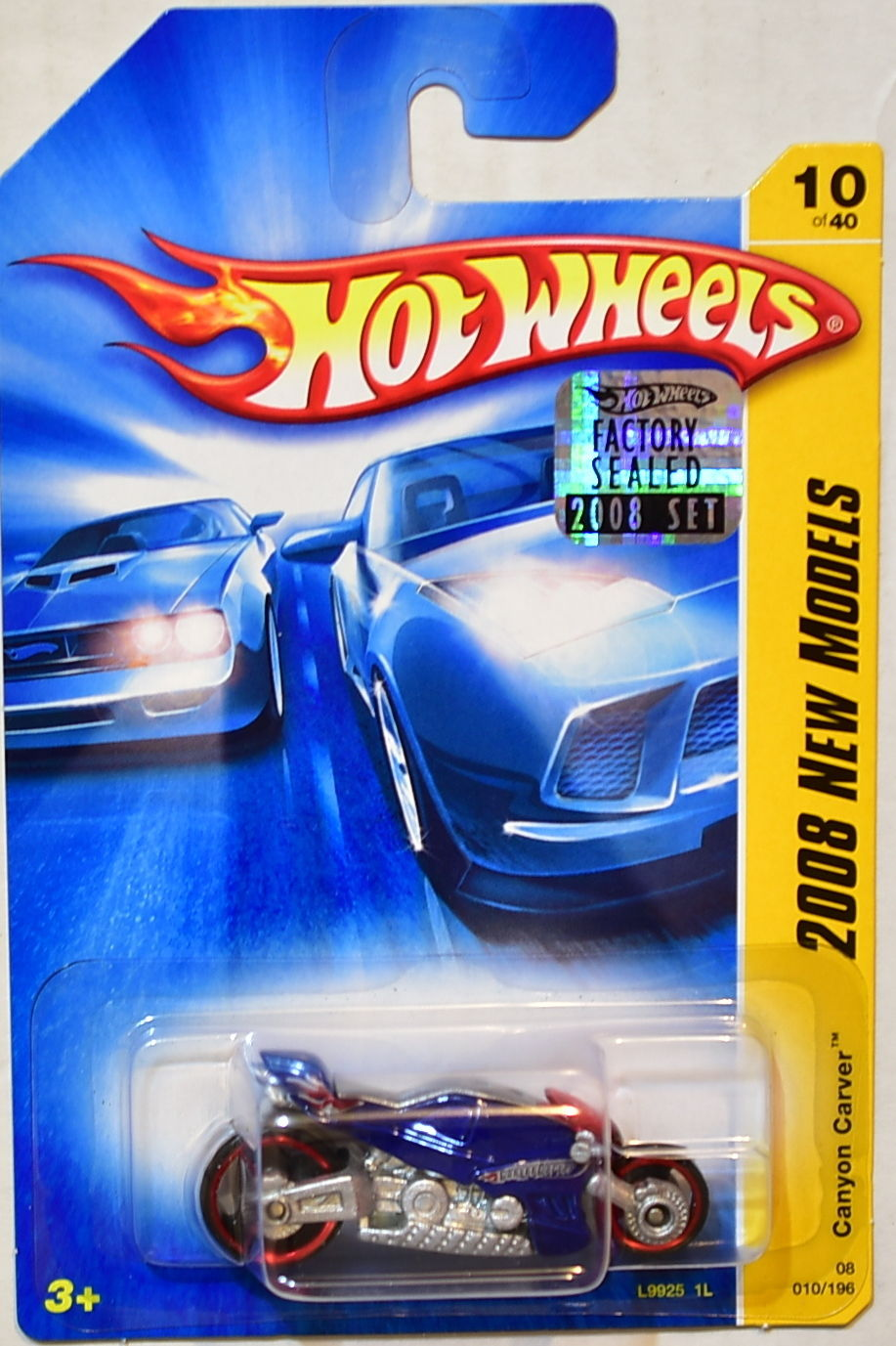 HOT WHEELS 2008 NEW MODELS CANYON CARVER BLUE FACTORY SEALED