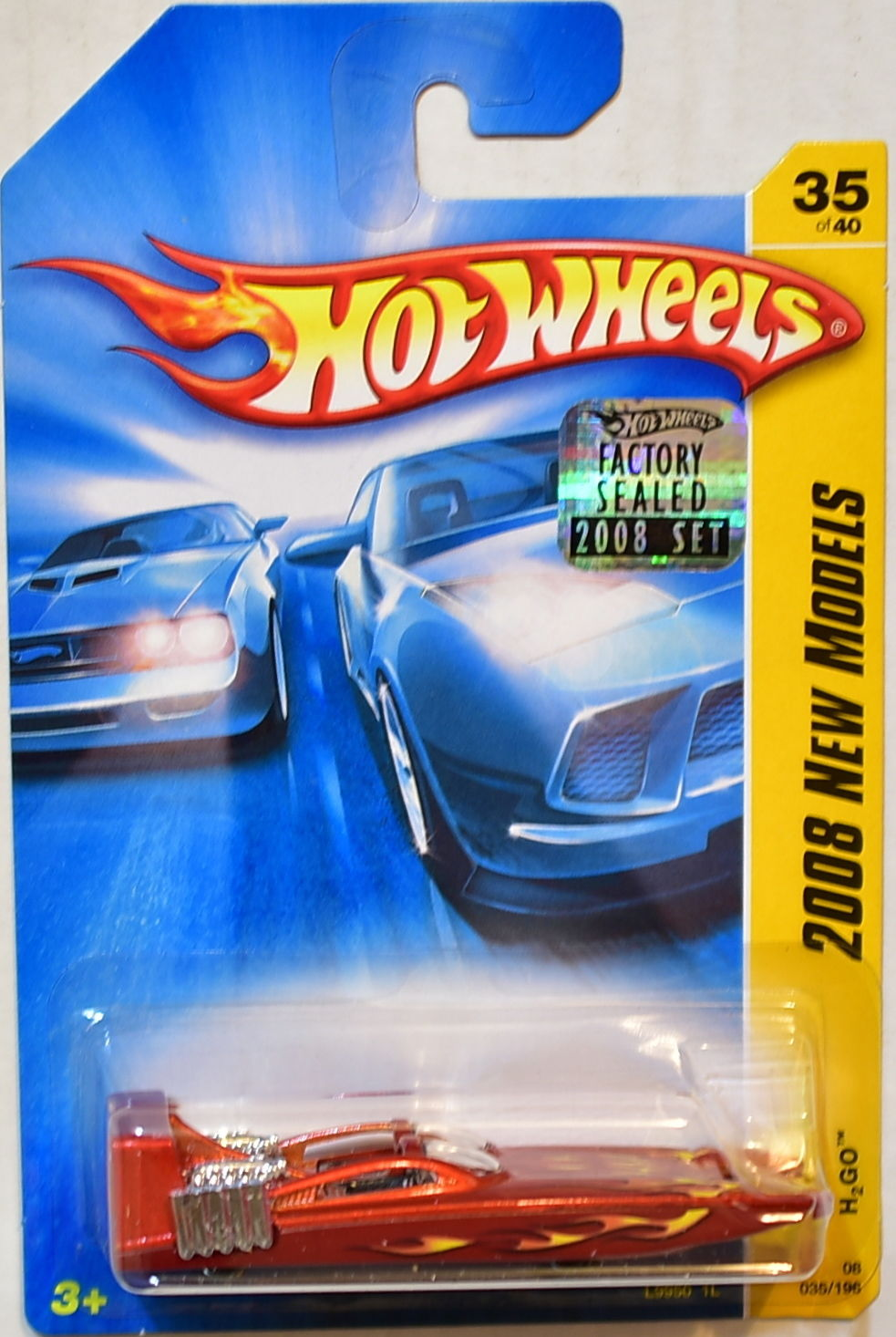 HOT WHEELS 2008 NEW MODELS H2GO #35/40 FACTORY SEALED