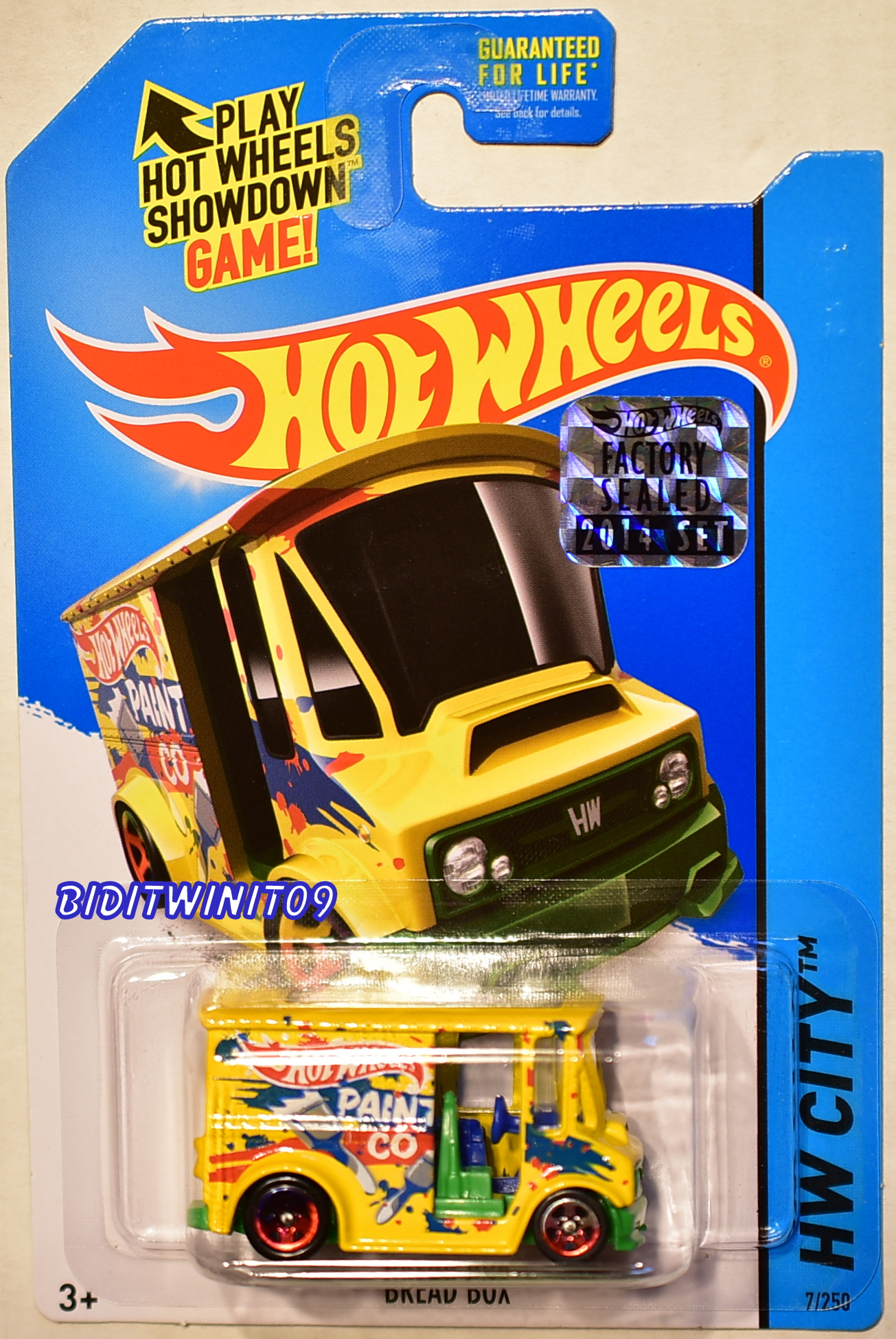 HOT WHEELS 2014 HW CITY BREAD BOX FACTORY SEALED