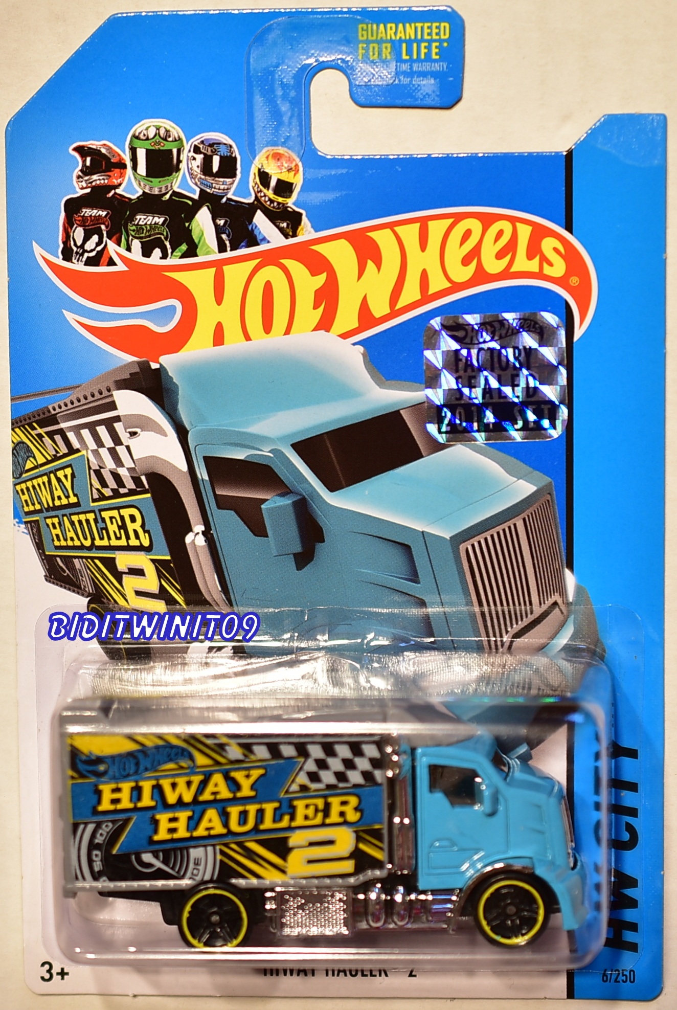 HOT WHEELS 2014 HW CITY HIWAY HAULER 2 FACTORY SEALED
