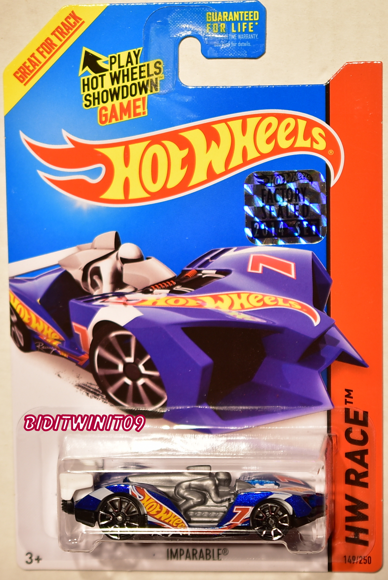 HOT WHEELS 2014 HW RACE IMPARABLE FACTORY SEALED