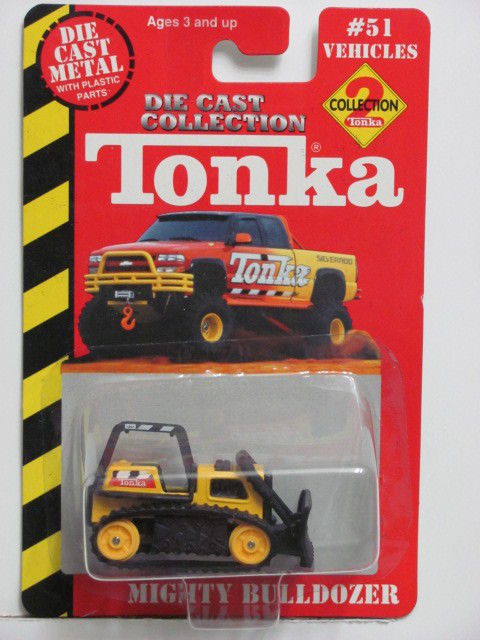 TONKA TRACTOR MIGHTY BULLDOZER #51
