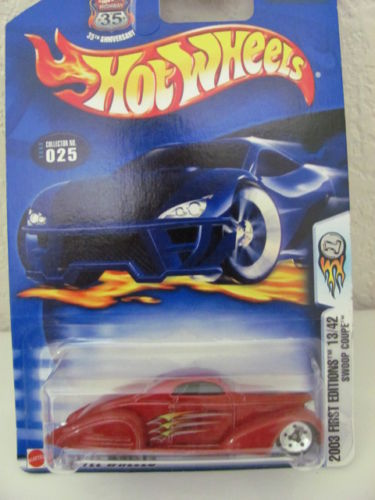HOT WHEELS 2003 F/E SWOOP COUPE 13/42 FIRST EDITION