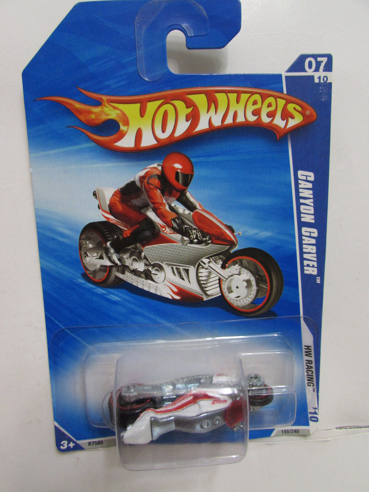 HOT WHEELS 2010 CANYON CARVER HW RACING #07/10