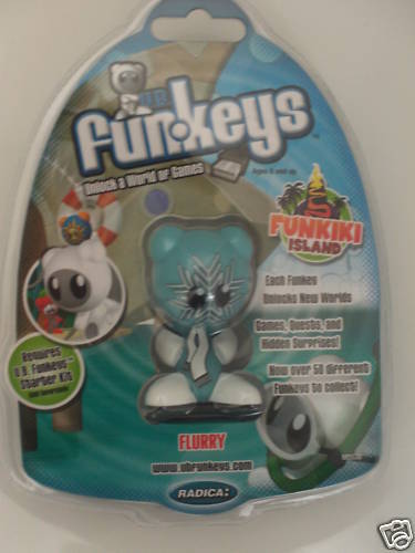 U.B. FUN-KEYS FUNKIKI ISLAND FLURRY LT. BLUE