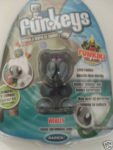 "U.B. FUNKEYS "" WEBLEY"", FUNKIKI ISLAND,NEW IN BOX"