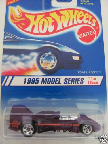 HOT WHEELS 1995 FIRST EDITIONS 11/12 POWER ROCKET