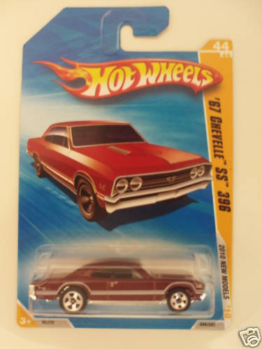 HOT WHEELS 2010 '67 CHEVELLE SS 396 NEW MODELS