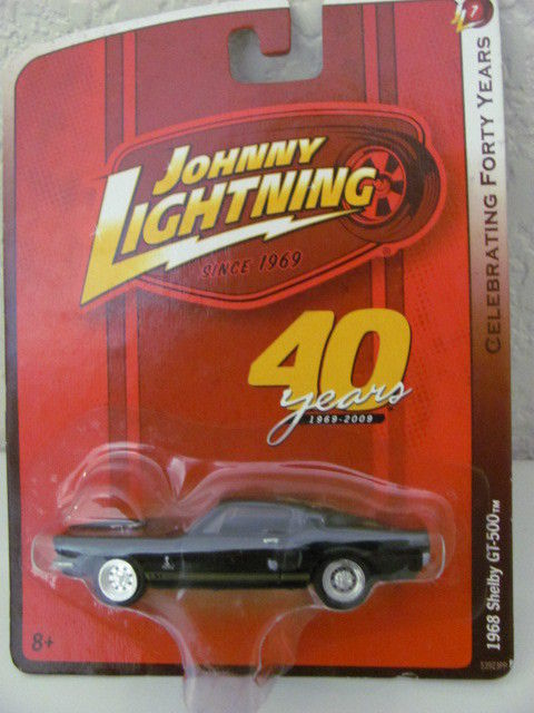 JOHNNY LIGHTNING 1968 SHELBY GT-500 CELEBRATING 40TH BL