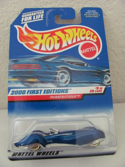 HOT WHEELS 2000 FIRST EDITIONS PHANTASTIQUE #09/36 BLUE
