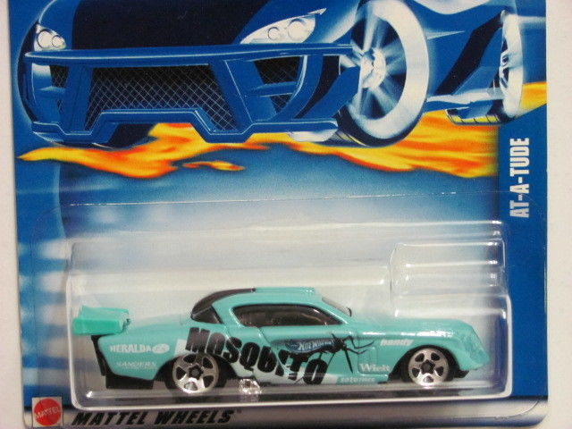 HOT WHEELS 2000 #237 AT - A - TUDE BLUE