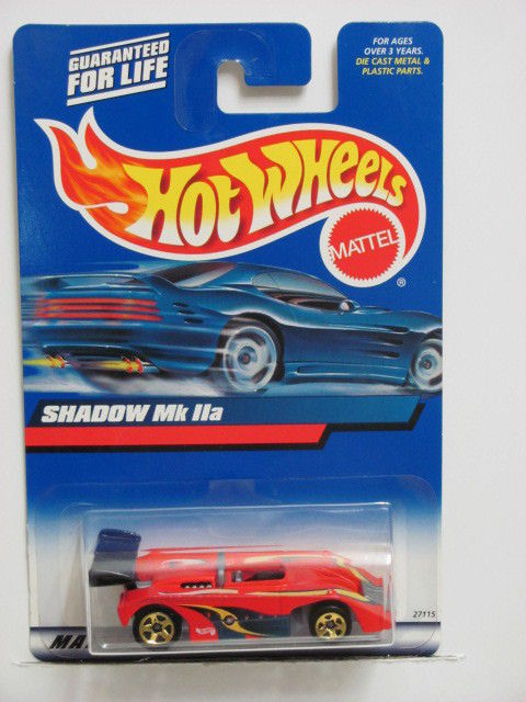 HOT WHEELS 2000 #149 SHADOW Mk lla