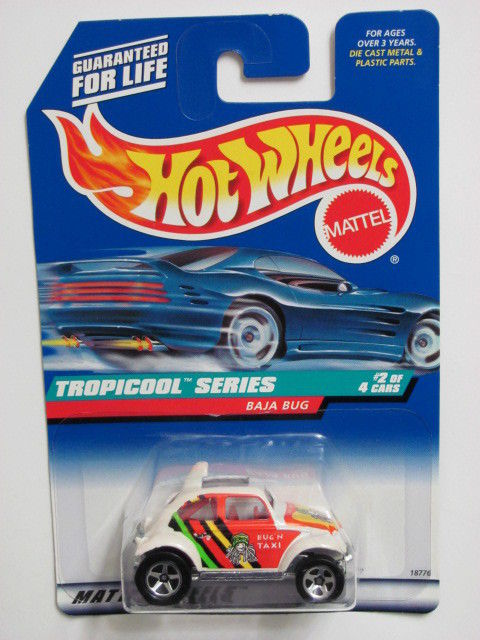 HOT WHEELS 1998 TROPICOOL SERIES BAJA BUG #02/04 E+