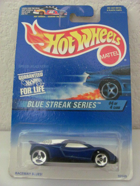 HOT WHEELS 1997 BLUE STREAK SERIES SPEED BLASTER 3SPKS