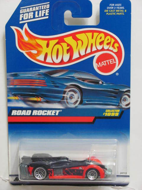 HOT WHEELS 1999 FIRST EDITIONS ROAD ROCKET #1099