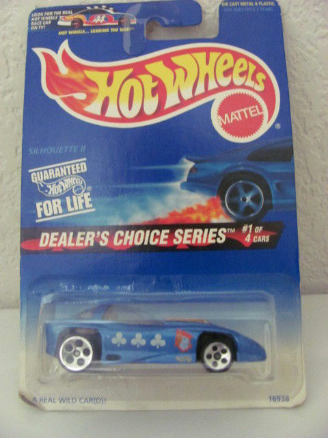HOT WHEELS 1997 DEALER'S CHOICE SERIES SILHOUETTE II