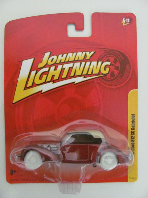 JOHNNY WHITE LIGHTNING 1937 CORD 812 SC CABRIOLET RL11