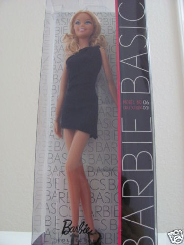 BARBIE BACK TO BASICS BLACK LABEL MODEL #6