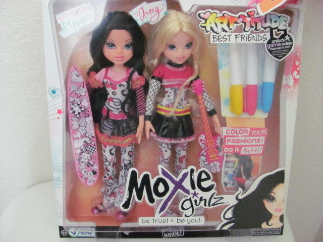 MOXIE GIRLZ ARTTITUDE WITH FASHION ACCESSARY