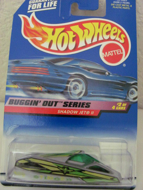 HOT WHEELS 1999 BUGGIN' OUT SERIES SHADOW JET II #2/4