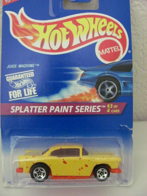 HOT WHEELS 1995 SPLATTER PAINT SERIES JUICE MACHINE