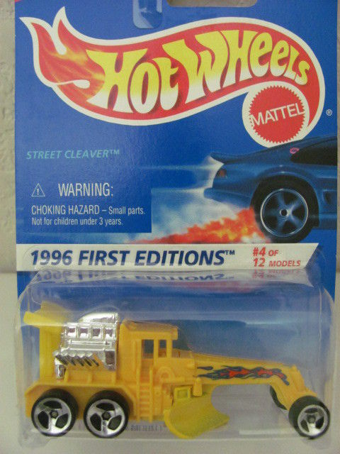 HOT WHEELS 1996 FIRST EDITIONS STREET CLEAVER W/3 SPK WHEELS