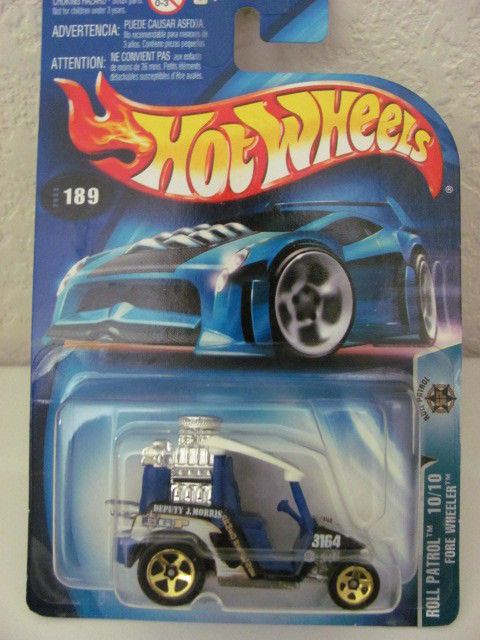 HOT WHEELS 2003 ROLL PATOL 10/10 - FORE WHEELER #189